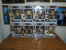 8 Big Bang Theory Funko POP MIB