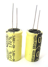 680uF 100V Radial Lead Electrolytic Capacitors: 2/Lot: Popular in Power Supplies