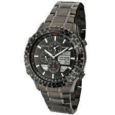 Reloj De Pulsera para Hombre Accurist Analógico/Digital Cronógrafo Negro PVD MB1036BB