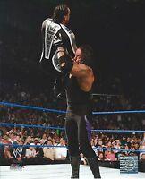 UNDERTAKER -VS- MVP WWE WRESTLING 8 X 10 LICENSED PHOTO NEW #525