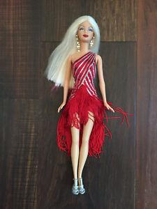 2003 Barbie Diva Doll Red Hot - Cut hair