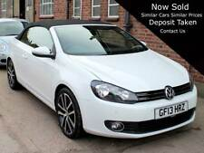 2013 VW Golf Convertible 2.0 TDI Tech GT Cabriolet 21,000 miles 1 Owner FWVSH