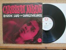 BYRON LEE & THE DRAGONAIRES - Caribbean Joyride UK Island ILP 905