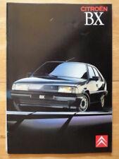 BX Paper 1990 Car Sales Brochures