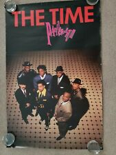 "1990 original Pandemonium ""The Time"" poster 24"" x 35"""
