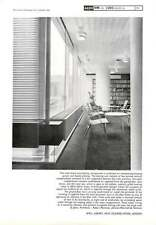 1963 Interior Wall Of The Library In New Zealand House London