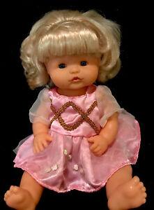 """Nenuco Doll Famosa SPAIN 1980's Nenuca Baby Doll model T-1865-15"""" RARE"""
