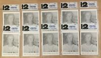 VINTAGE 1961 KANSAS CITY ATHLETICS A'S PICTURE PACKS LOT OF 10 BY JAY PUBLISHING
