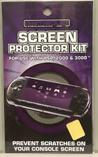 SCREEN PROTECTOR KIT FOR SONY PLAYSTATION PSP - PSP2000 PSP3000 BRAND NEW