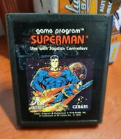 SUPERMAN ATARI 2600 ORIGINAL GAME CARTRIDGE ATARI GAME CART FROM 1979...