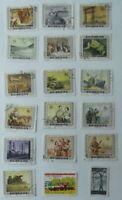 Lote de 18 antiguos sellos China, industria oficios, Usados selectos