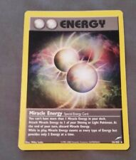 Pokemon Holographic Trainer Trading Card Miracle Energy 16/105 Energy Card