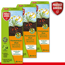 Protect Garden 3 x 1000 ML Permaclean Duo Mauvaise Herbe & Wurzel-Ex