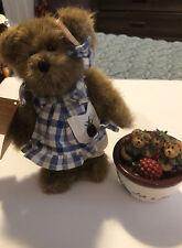 Boyds Bears Figurine &Bear Plus Pottery Frank Oscar Barney & Stu -We Be Jammin
