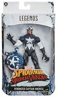 Venomized Captain America Spider-Man Maximum Venom Marvel Legends Figur Hasbro