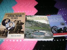 Civil War books-set of 3-paperback