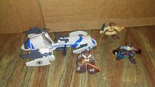 2011 STAR WARS Playskool GALACTIC HEROES BARC SPEEDER BIKE & FIGURE lot FREE S/H