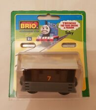 Thomas The Tank Engine & Friends BRIO TOBY WOOD TRAIN WOODEN NEW IN BOX