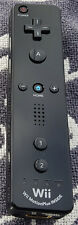 Original Nintendo Wii & WiiU Remote PLUS Motion Plus Inside Controler (Schwarz)