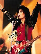 JOAN JETT Autographed 8.5 x 11 Signed Photo COA