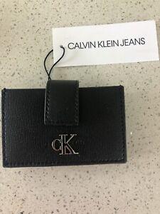 Calvin Klein Card Holder Black