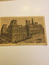 Old Postcard  1944 Paris Hotel De Villa