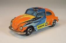 Majorette 1/60 Nr. 202 203 VW Volkswagen 1302 Käfer Beetle orange Cibie #818