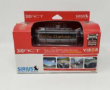 Xact Xtr3Ck Sirius Satellite Radio Receiver w/ Visor Vehicle Car Kit