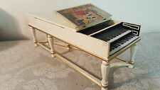Ralph E. Partelow HH-1 1734 Harpsichord 1 of 8 doll house size piano