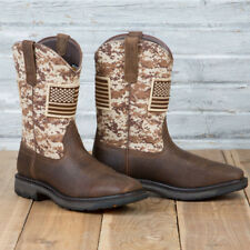 Ariat Steel Toe Workhog Patriot Boots