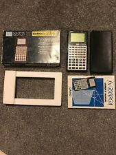 CASIO FX-7000GA Graphic Scientific Calculator Original Box Manual -Ex. Condition