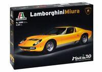 Italeri Lamborghini Miura 1:24 scale model kit new 3686