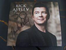 Slip Album: Rick Astley : 50 : SIGNED