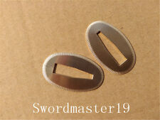 2 Top Grade Polished Brass Seppa Washer - Japanese Katana Wakizashi Tanto Sword