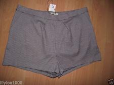 Papaya Polyester Casual Shorts for Women