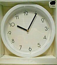 "10""   Wall Clock   White"
