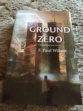 GROUND ZERO F.Paul Wilson NEW REPAIRMAN JACK SIGNED/LIMITED 475 COPY EDITION