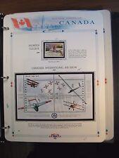Canada Scott# 1810,1807 Frontier College & Air Show  MNH 1999 C221