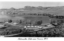 Photo. 1949-51. Vernon, B. C Canada.  Sky View of Kalamalka Lake