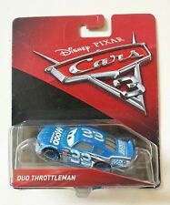NOVITA' CARS 3 Disney pixar DUD THROTTLEMAN nr.33 2017 Mood Springs mattel 1/55