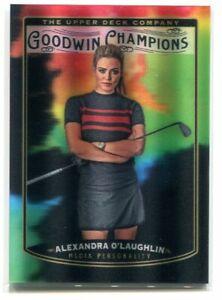 2019 Upper Deck Goodwin Champions Splash of Color 3d AO Alexandra O'Laughlin