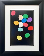 "Andy Warhol ""Eggs"" CUSTOM FRAMED Pop Art Iconic Kitchen Restuarant Food"