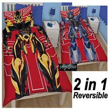 Transformers Robots de Cubierta de Edredón Individual Polialgodón oficial de ropa de cama 2 en 1