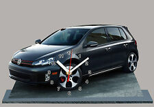 MODEL CARS, VOLKSWAGEN GOLF 6 GTI  -04 with Clock