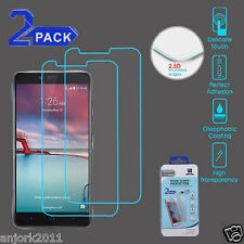 2X PACK 0.3mm TEMPERED GLASS SCREEN PROTECTOR FOR ZTE ZMAX PRO BLADE X MAX
