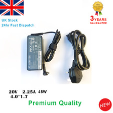 Fits Lenovo ideaPad 100S-14IBR 100-15IBY B50-50 Laptop Adapter Charger 20V 2.25A