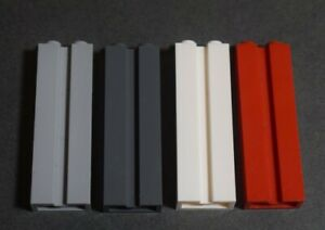 Lego 88393 Brick Column with Groove 1x2x5 Select Colour Pack of 4