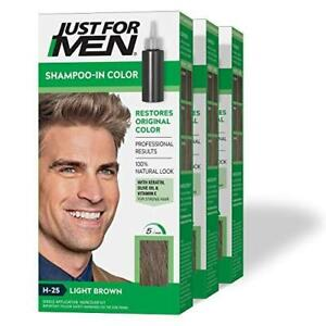 Just For Men Shampoo-In Color (Formerly Original Formula), Gray Hair Coloring