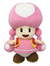 NEW Sanei Super Mario All Star Collection - AC33 - Toadette Stuffed Plush Doll