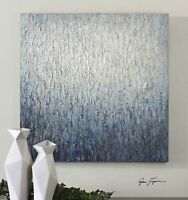 "LARGE 36"" HAND PAINTED CANVAS ABSTRACT TEXTURED FINISH PAINTING MODERN WALL ART"